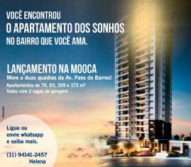 Lançamento de Apartamentos na Mooca