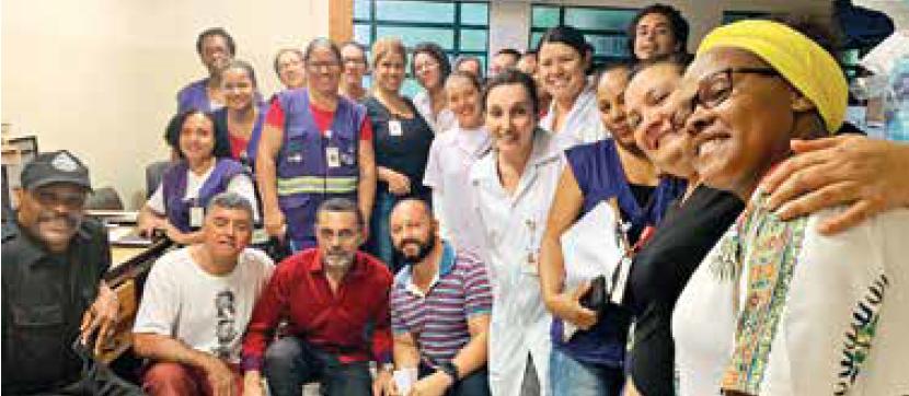 Visita do Vereador Beto do Social a UBS Dr. José Marcílio Malta Cardoso